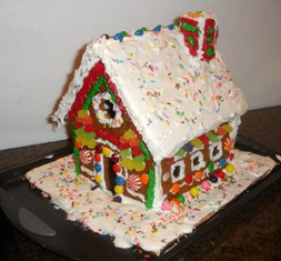 make your own gingerbread house from scratch, easily